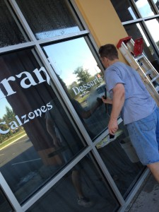 commercial window cleaning in Ocala Florida